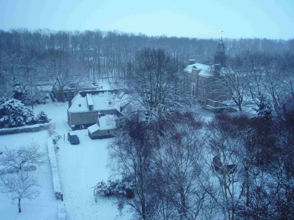 luchtfoto winter